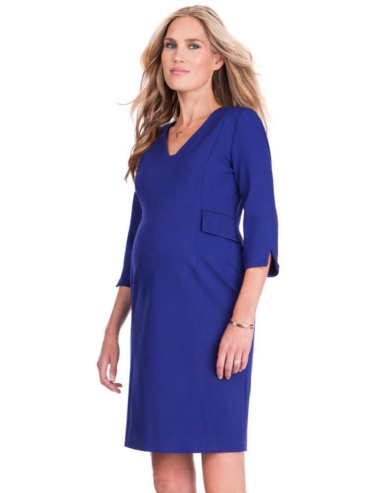 Seraphine Everett Ponti V Neck Dress