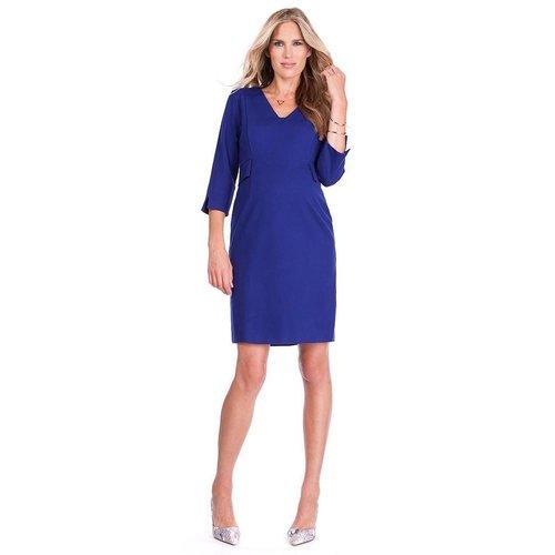 Seraphine Everett Ponti V Neck Dress