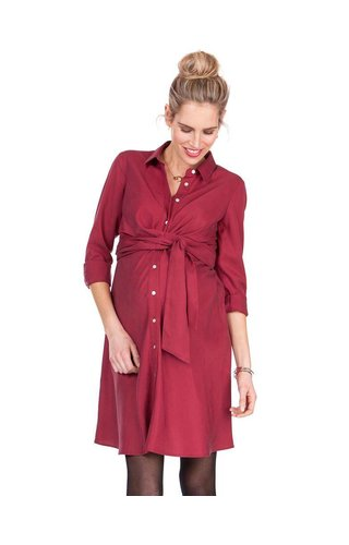 Seraphine Maggie Wrap Shirt Dress