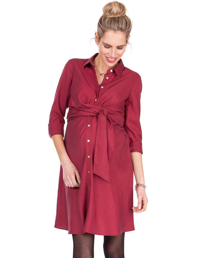 Seraphine Maggie Wrap Shirt Dress