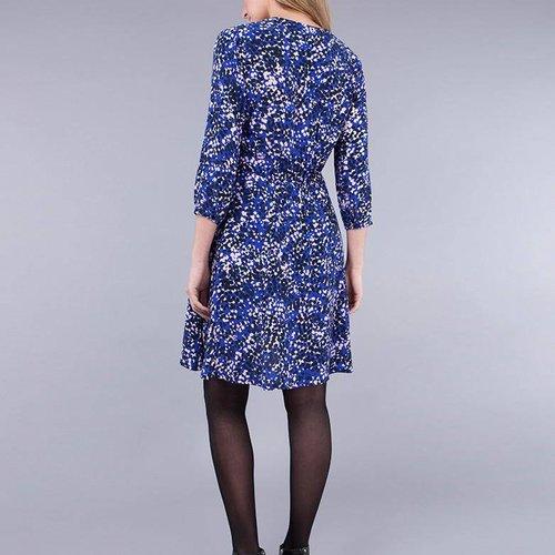 Seraphine Flora Tie Neck Dress