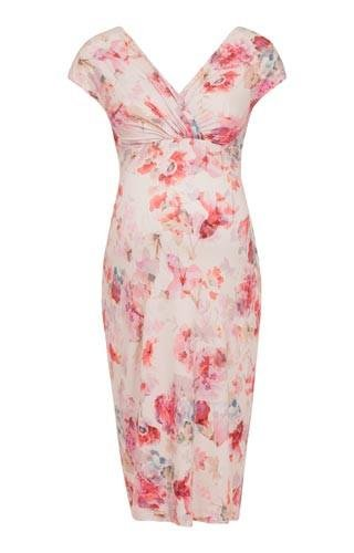 Tiffany Rose Maternity Wear Australia Bardot Shift Dress English Rose