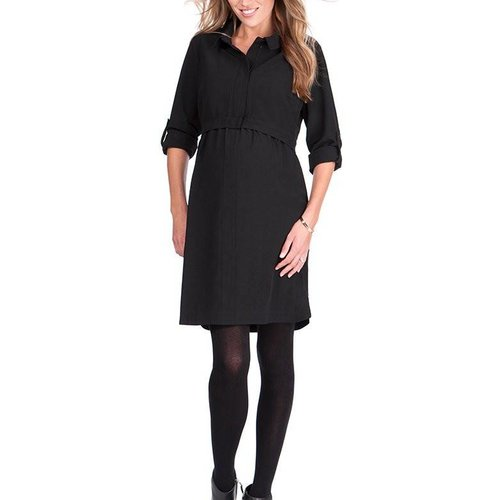 Seraphine Grace Zip Up Nursing Dress