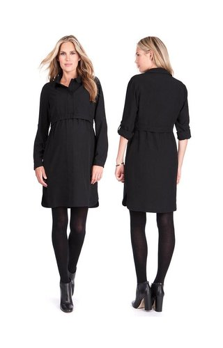 Seraphine Grace Zip Up Nursing Dress