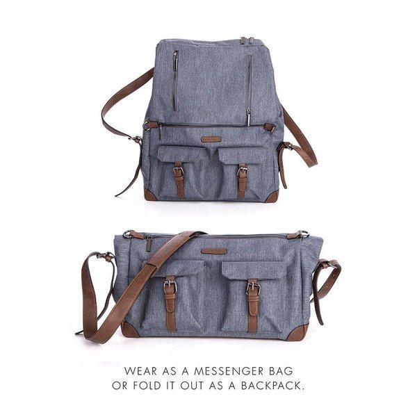 Lorenz Satchel Rucksack Changing bag