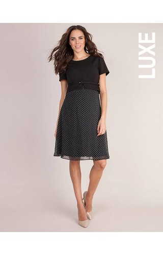 Seraphine Jill 3/4 Ponte Nursing Dress