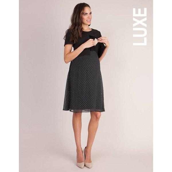 Jill 3/4 Ponte Nursing Dress