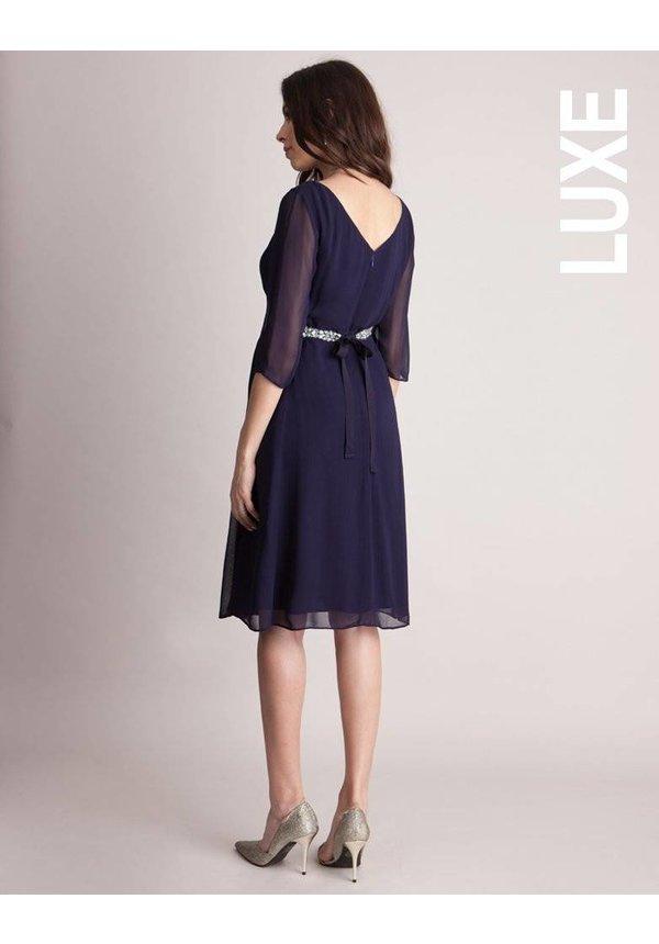 Gisele Sheer Sleeve Dress