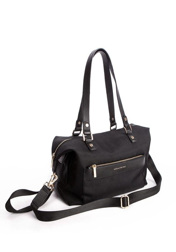Oxford Canvas and Leather Changing Bag