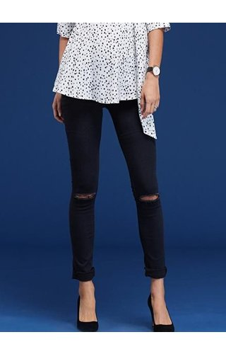 Isabella Oliver Zadie Ripped Stretch Maternity Skinny Jean