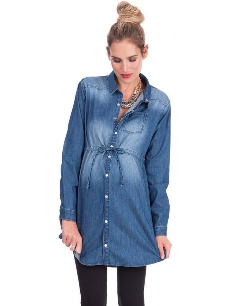 Seraphine Lara Draw String Shirt Dress