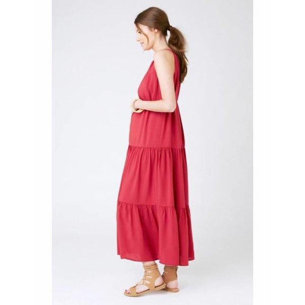 Panelled Peasant Dress