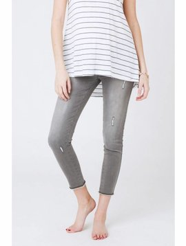 Ripe Distressed Ankle Grazer Jegging