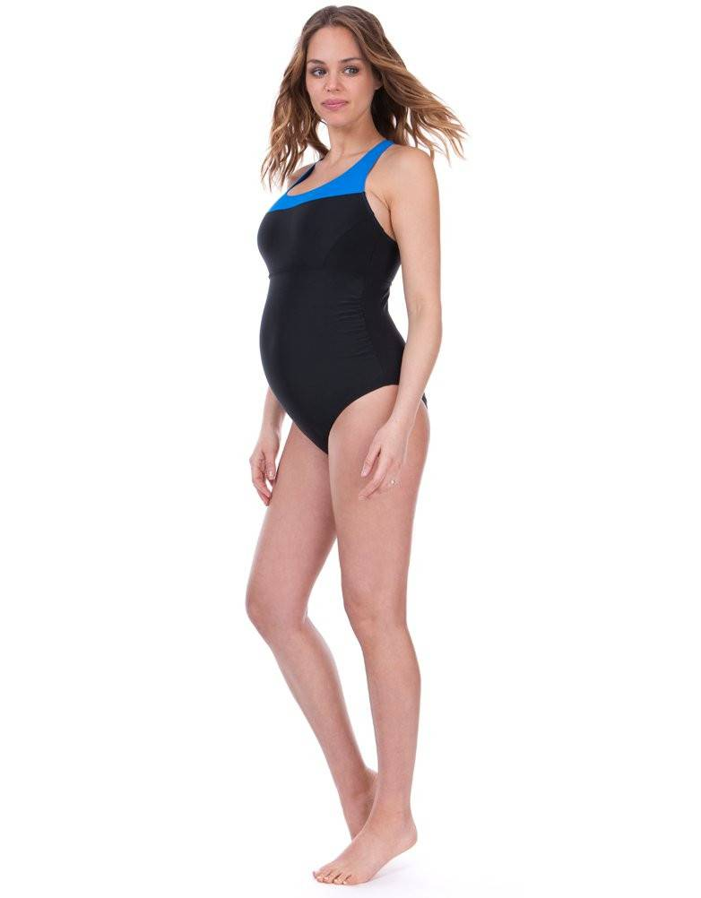 Seraphine Marine Racer Back Swimsuit