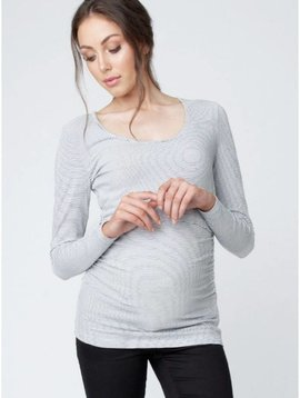 Ripe Mini Stripe Nursing Tube Tee