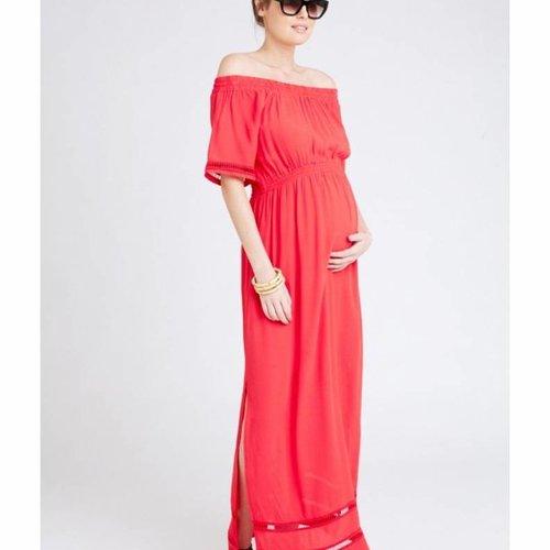 Ripe Cold Shoulder Maxi Dress