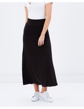 Bamboo Body Long Bamboo Skirt