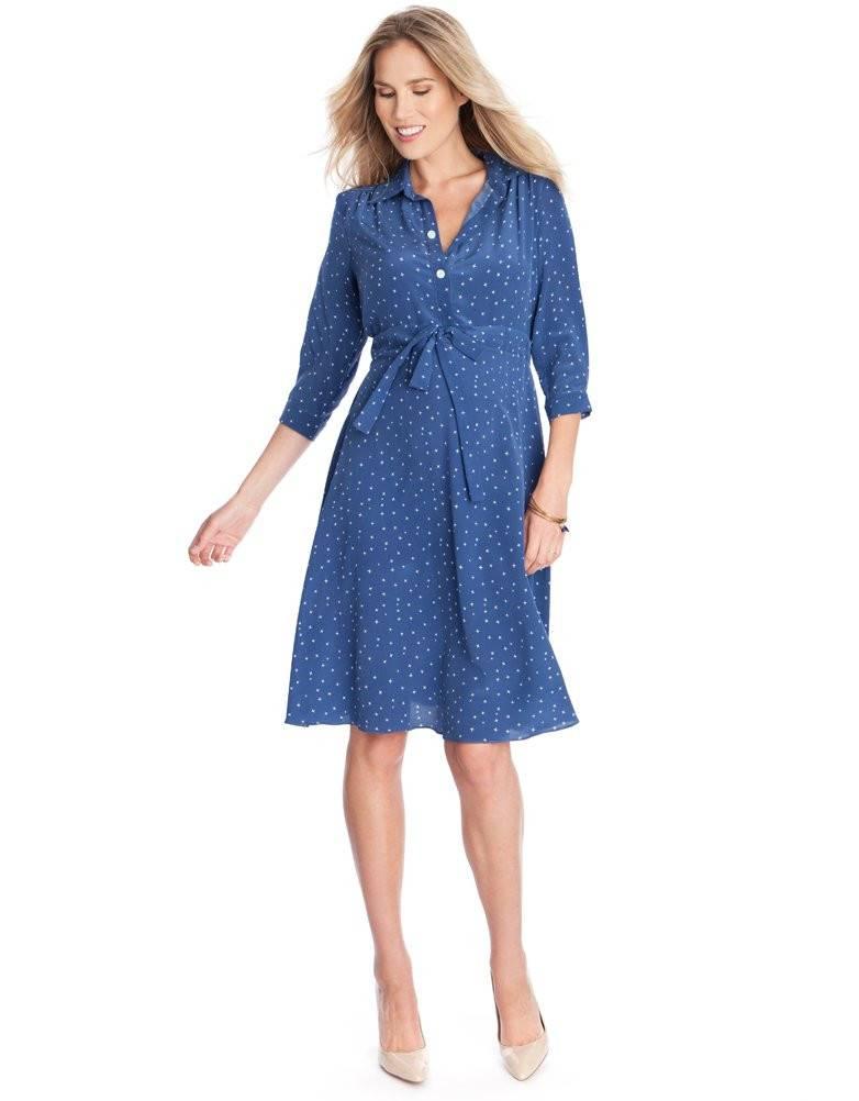 Seraphine Virginia Maternity Shirt Dress