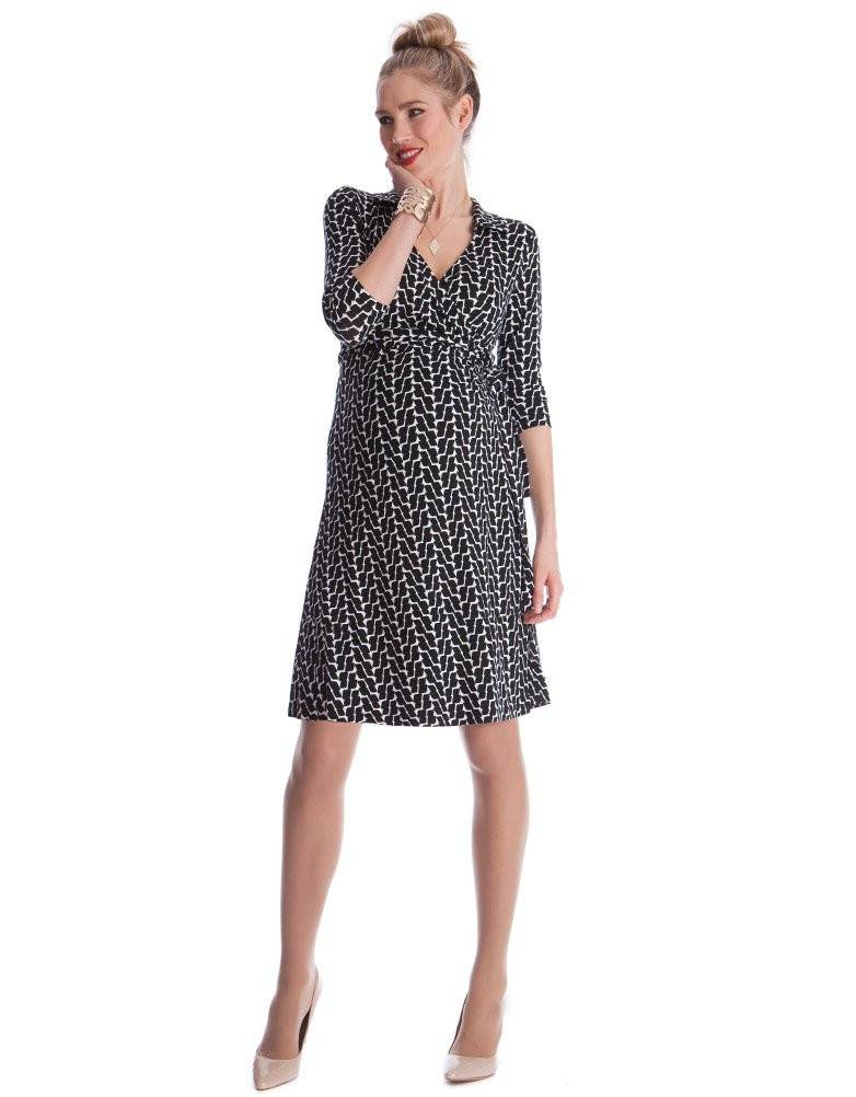 Seraphine Georgina Maternity Wrap Dress