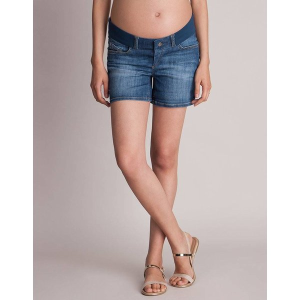 Ollie Maternity Denim Shorts