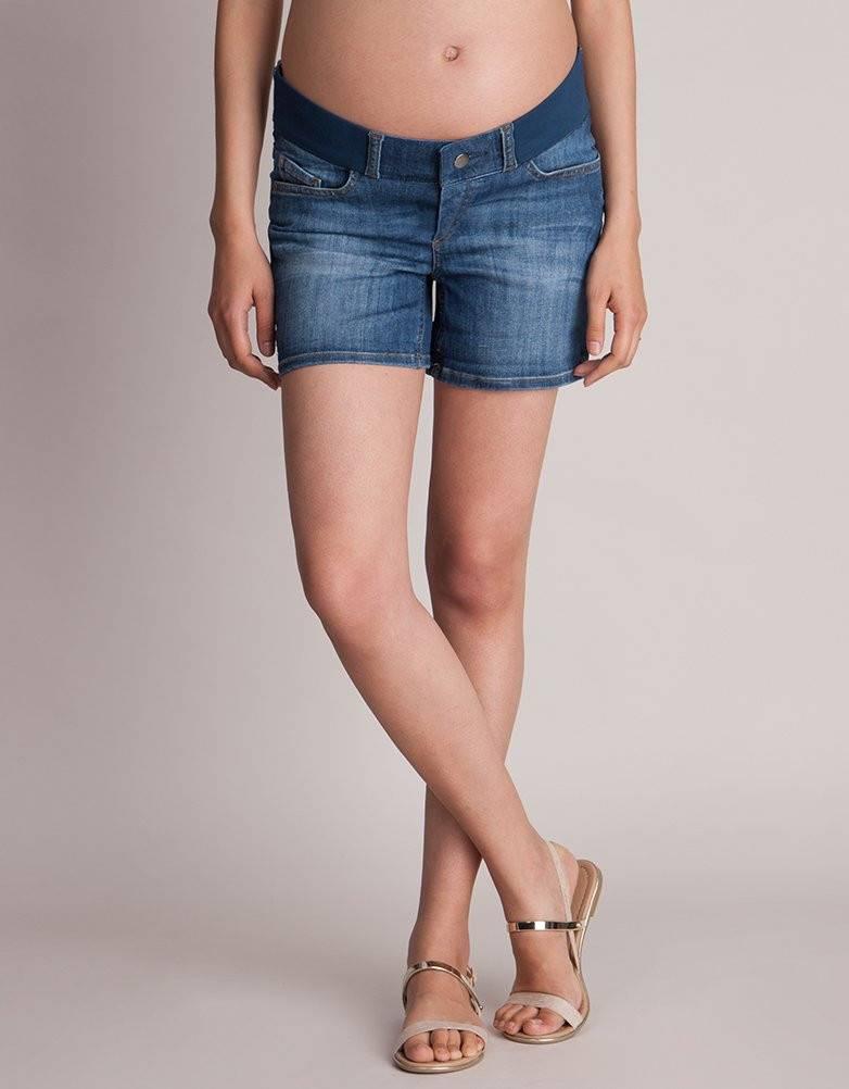 Seraphine Ollie Maternity Denim Shorts