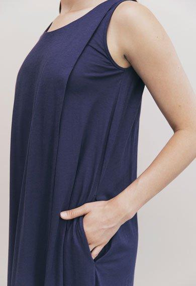 Boob Air Long Nursing Dress