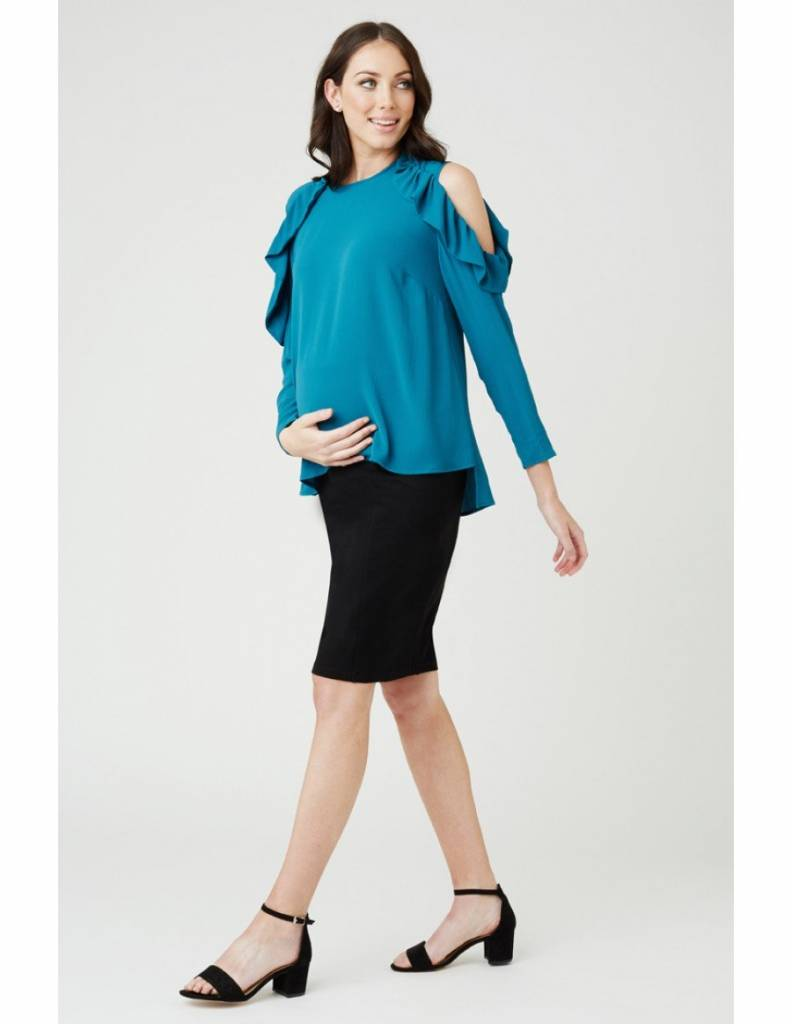 Ripe Frill Cut Out Top