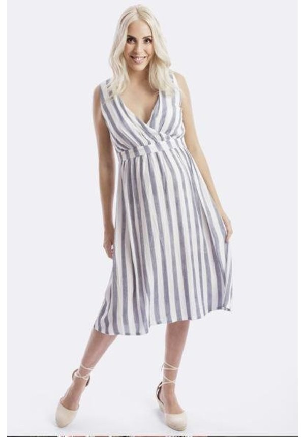 Poppy Maternity and Nursing Dress