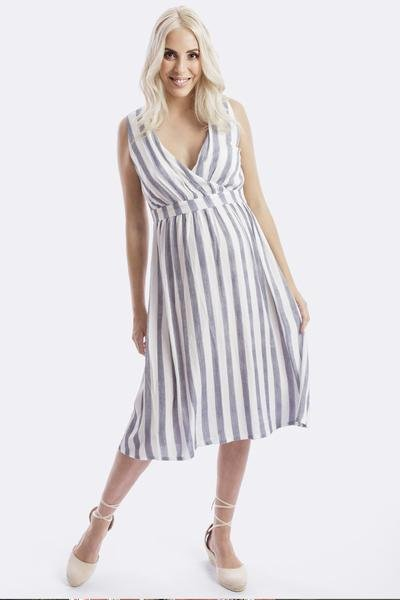 Maive & Bo Poppy Maternity and Nursing Dress