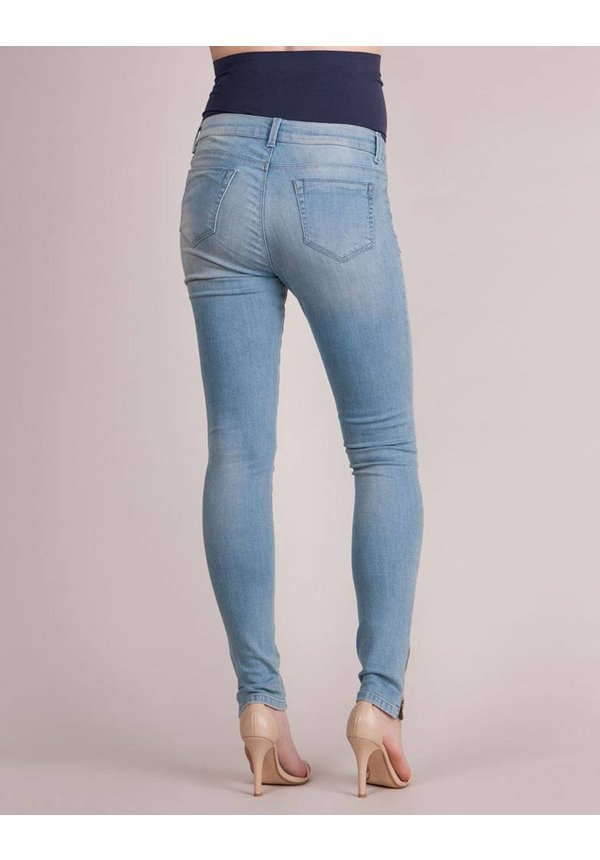 Hamilton Zip Skinny Over Bump Jean