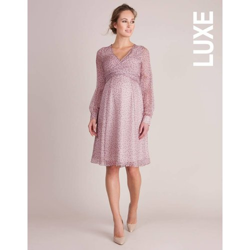 Seraphine Avita Silk Wrap Dress
