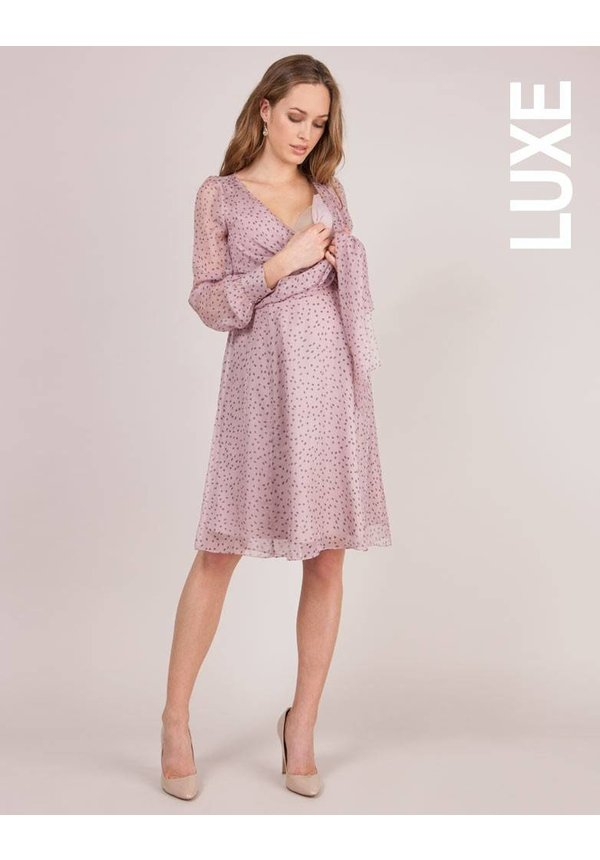 Avita Silk Wrap Dress