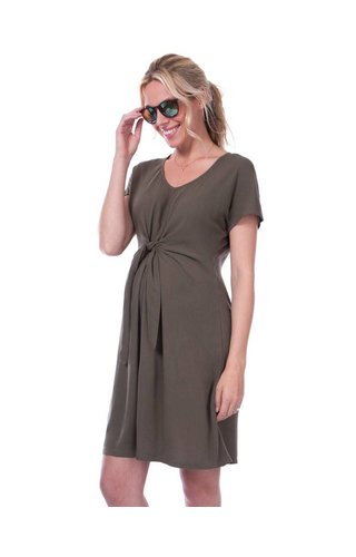 Seraphine Indra Tie Front Dress