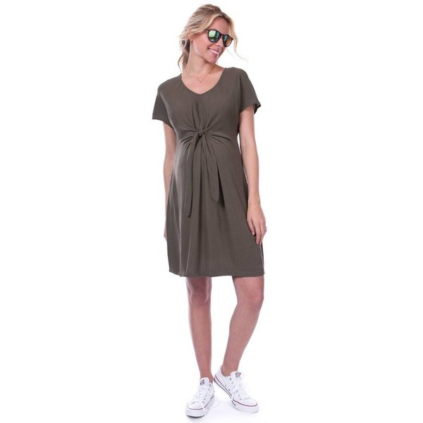 Indra Tie Front Dress