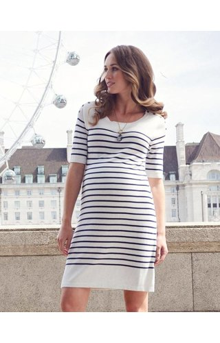 Seraphine Bex Striped Knit Dress