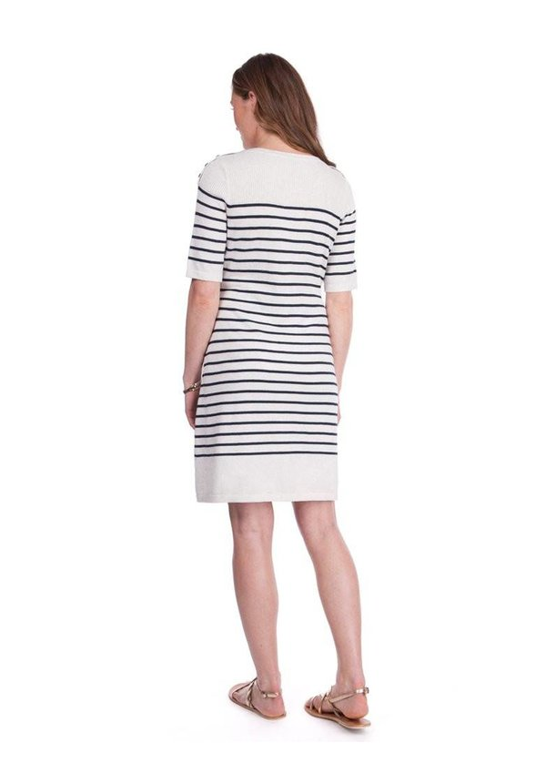 Bex Striped Knit Dress