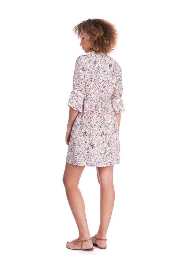Becky Dress Boho Contrast