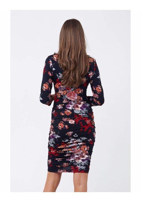 Blossom Cross Your Heart Dress - 3/4 Sleeve