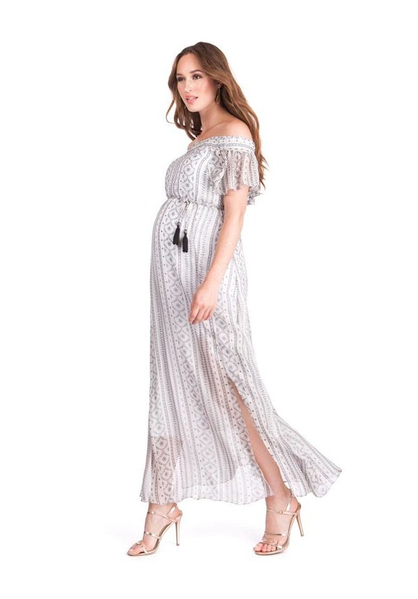 Monique Ruffle Maxi Dress