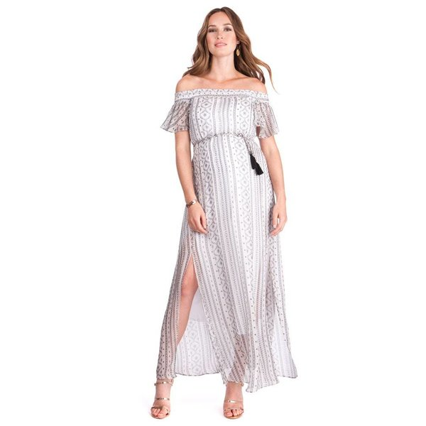 Monique Ruffle Maxi Dress