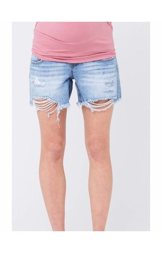 Ripe Distressed Denim Short