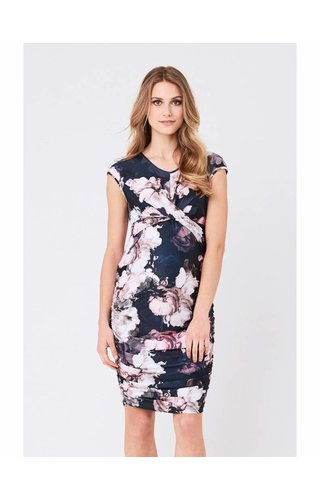 Ripe Dahlia Cross Your Heart Dress