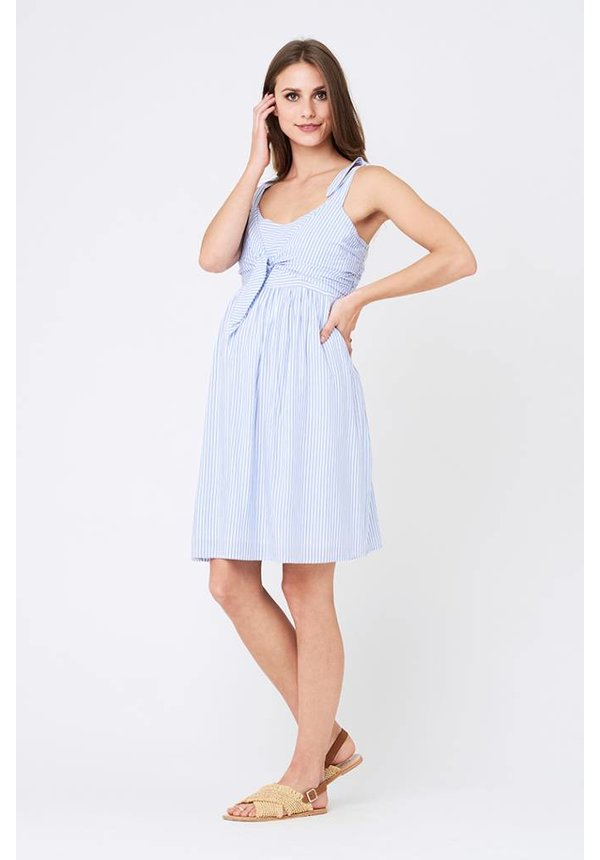 Sally Tie Front Nursing Dress