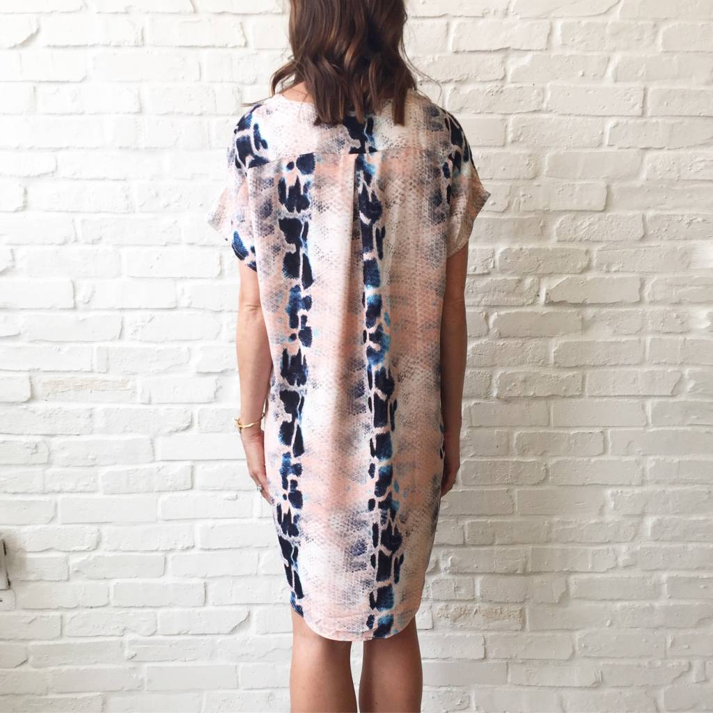 Liberty Gator Lace Up Dress