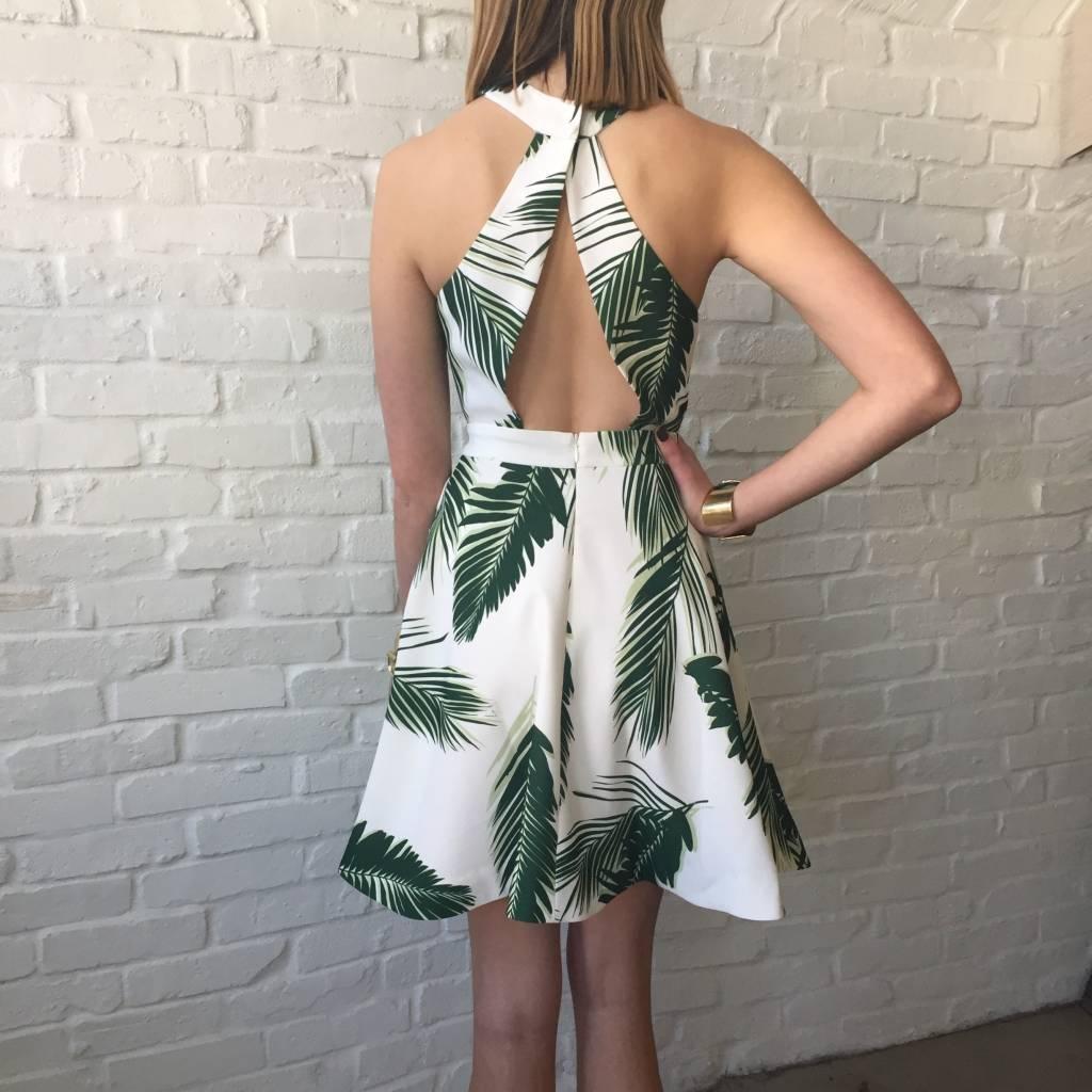 Maui Print Dress