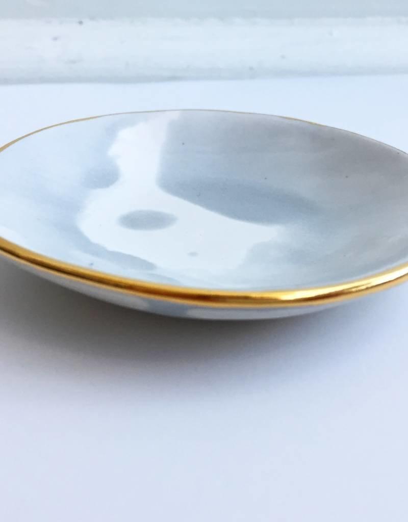 Rd. Watercolor Ring Dish