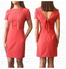 CRANBERRY VISTA TIE BACK DRESS