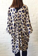 Lavender Animal Kimono