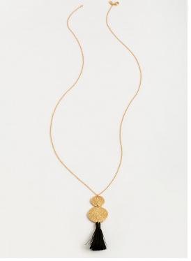 Phoenix Necklace-Blk