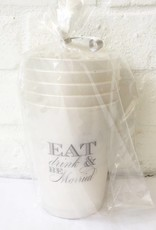 Eat Drink & Be Married Cup-Frost Flex Cup